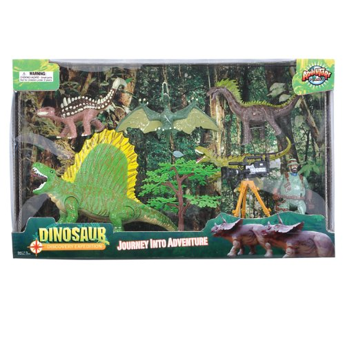 Adventure Planet Series 2 Discovery Expeditions Dinosaur Explorer Set front-94968