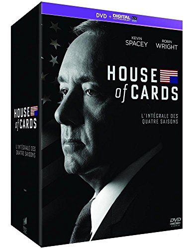 House of Cards - Intégrale saisons 1-2-3-4 [Francia] [DVD]