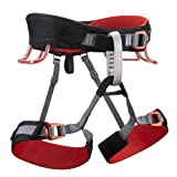 Black Diamond Momentum 3S climbing belt red/black (Size: L) climbing belt