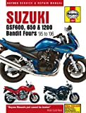 Haynes Manual for Suzuki GSF600, 650 & 1200 Bandit Fours (95 - 06) Including an AA Microfibre Magic Mitt