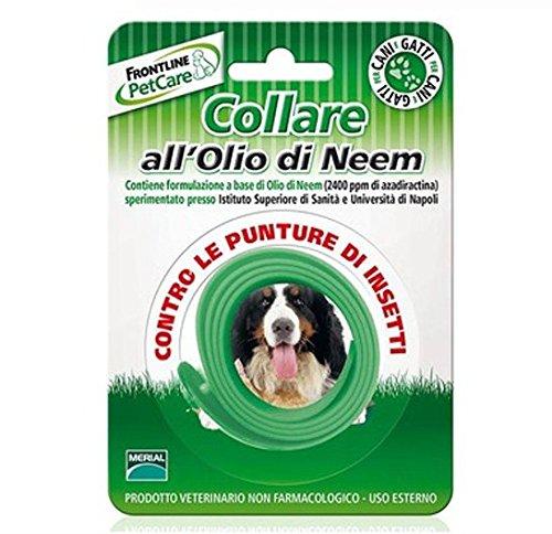 Frontline PetCare Collare all'Olio di Neem - Antiparassitario contro le punture di insetti, lenitivo naturale, per cani e gatti