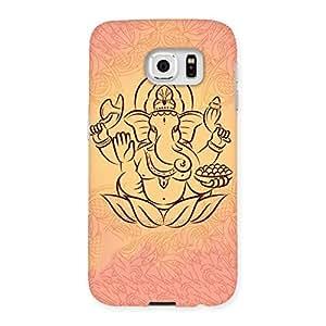 Premium Jai Ganesha Print Back Case Cover for Samsung Galaxy S6