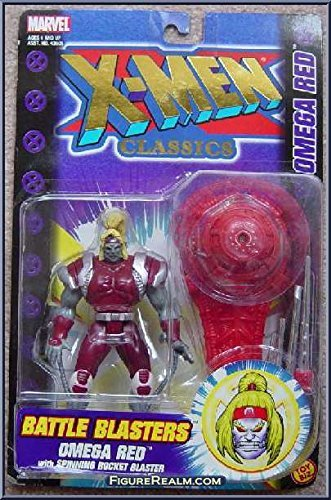 X-men Classics Battle Blasters Omega Red with Spinning Rocket Blaster - 1