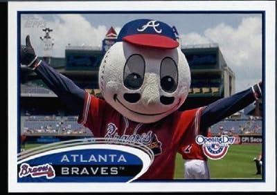 2012 Topps Opening Day Mascots Baseball Card #M -8 Homer - Atlanta Braves - MLB Trading Card