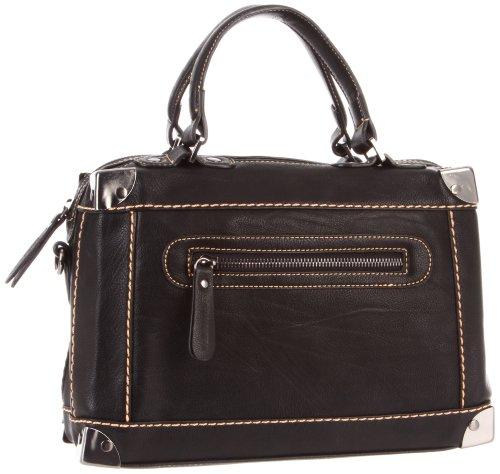 Melie Bianco Helena Handbag,Black,One Size