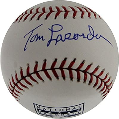 Tommy Lasorda Signed Autographed HOF Major League Baseball Los Angeles Dodgers