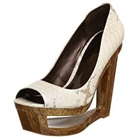 Jessica Simpson Women's Gusla Pump - Free Overnight Shipping & Return Shipping: Endless.com :  hole air snakeskin gorgeous