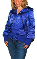 Buy Polo Ralph Lauren RLX Ladies Down Nylon Feather Ski Snow Winter Jacket Blue by Polo Ralph Lauren
