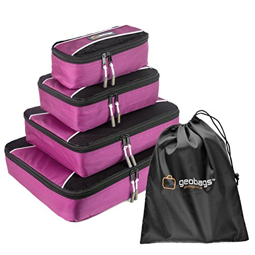 geobagsr-premium-packing-cubes-travel-luggage-organiser-bags-5-piece-set-shoe-bag-fully-lined-qualit