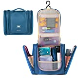 P.KU.VDSL Hanging Toiletry Bag Travel Storage Makeup Cosmetic Bag Beauty Kit Tour Case For Men Or Women (Deep...