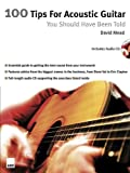 100 Tips for Acoustic Guitar (1860744001) by Mead, David