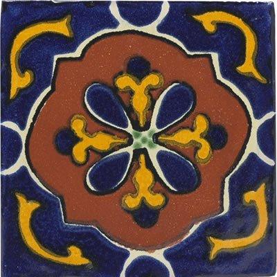 Mexican Kitchen Tiles on 4x4 Libro   Talavera Mexican Tile  2 75