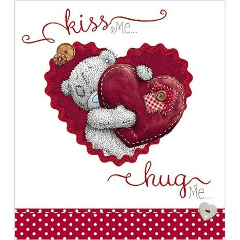 Kiss Me Hug Me Me to You Bär Valentinstag Karte