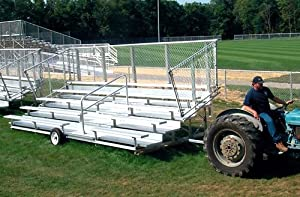 Transportable Bleacher 50 Seats from Athletic Connection