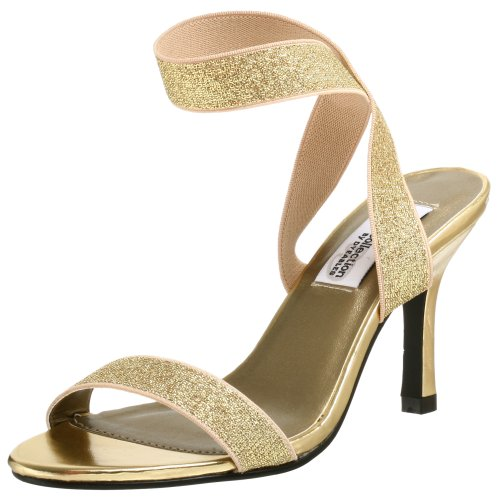 Dyeables Women's Bestbet Sandal,Gold,7.5 M