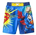 Superman Toddler Boys' Swim Trunk - UPF 50