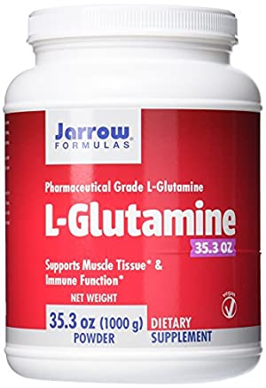 Jarrow Formulas L-Glutamine Powder, Supports Muscle Tissue