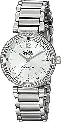 COACH Women's 1941 Sport 30mm Bracelet Watch Silver/Silver Watch