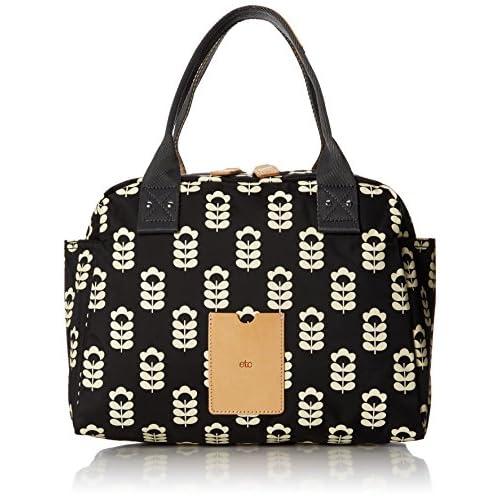 ETC by Orla Kiely Women's Little Sweetpea Printed Zip Handbag Bowling Bag