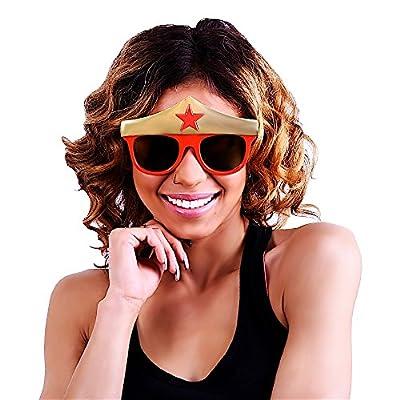 Sun-Staches® Wonder Woman Sunglasses As Seen on Shark Tank!