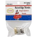 Colonial Needle Raised Edge Thimble, Size 11 image