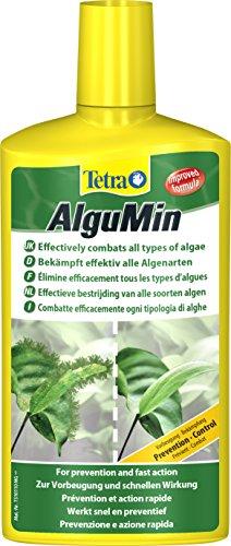 Tetra AlguMin, zur sicheren Algenbekämpfung auf milde biologische Weise, schnell und hochwirksam gegen alle Algenarten, 1 Flasche (1 x 500 ml)