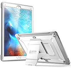 iPad Pro Case, SUPCASE [Heavy Duty] Apple iPad Pro Case 2015 [Unicorn Beetle PRO Series] Full-body Rugged Hybrid Protective Case without Built-in Screen Protector & Dual Layer Design (White/Gray)