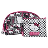 Hello Kitty Cosmetic Bag - Pink 2 Piece Set