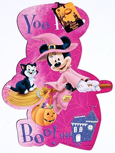 disney-minnie-mouse-halloween-decorative-two-sided-sign-yoo-hoo-boo-by-retail