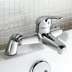 Summer Bathroom Taps - Chrome Bath Filler Mixer Tap