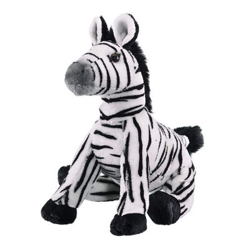 Zebra Plush Toy 9""