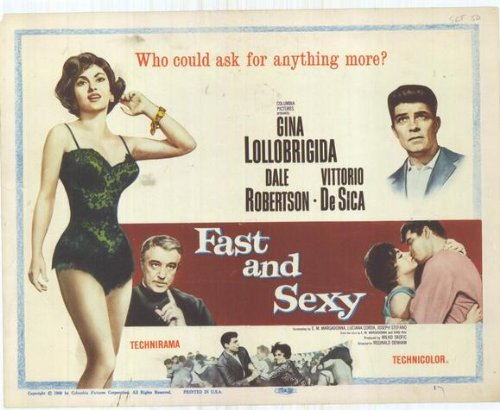Fast and Sexy 11 x 14 Movie Poster - Style A