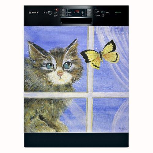 Appliance Art 11218 Appliance Art Playful Kitten Dishwasher Cover (Kitten Appliance compare prices)