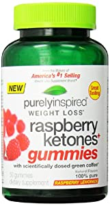 Iovate Health Sciences Purely Inspired Raspberry Ketones Gummies 50 Count by Iovate Health Sciences