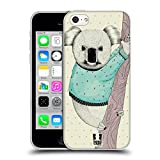 Head Case Designs Koala Wild Fashioners Soft Gel Back Case Cover for Apple iPhone 5c