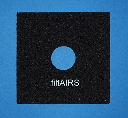 2 Dauerfilter Filter Ersatz-Luftfilter für Lüfter Helios ELF/ELSD 0587 ELS Ventilator-Einheiten