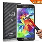 FEtech 2 Pack Samsung Galaxy S5 Film...