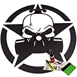 Jeep Hood decal gas mask 18