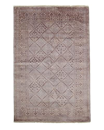 Solo Rugs Ziegler One of a Kind Rug, Violet, 5' x 8'