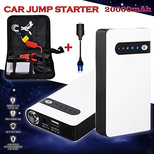 12V 4USB Portable 20000mAh Car Jump Starter Battery Charger Power Bank Minimax (Car 12v Battery Charger compare prices)
