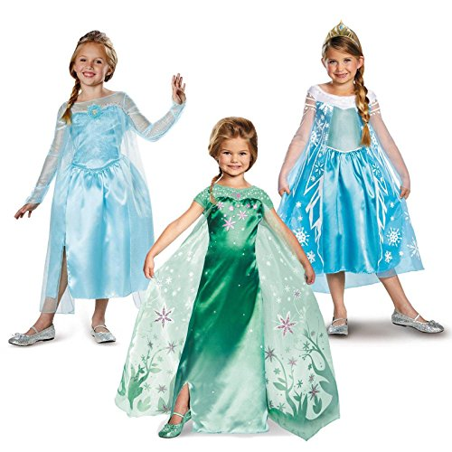 Frozen Fever Elsa Deluxe Child Costume Kit Small