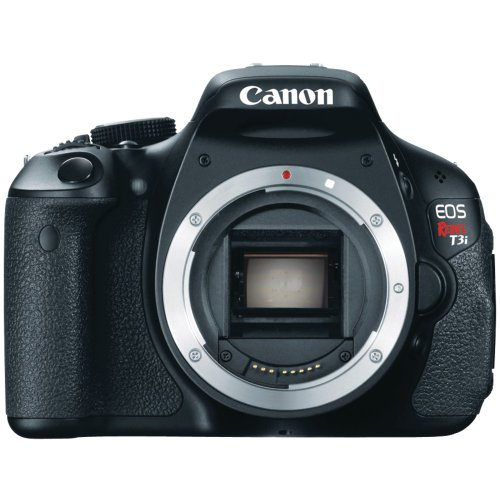 Canon EOS Rebel T3i 18 MP CMOS APS-C Sensor DIGIC 4 Image Processor Full-HD Movie Mode Digital SLR Camera with 3.0-Inch Clear View Vari-Angle LCD  (Body Only)