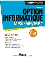 Option informatique MPSI-MP/MP* - Conforme au nouveau programme