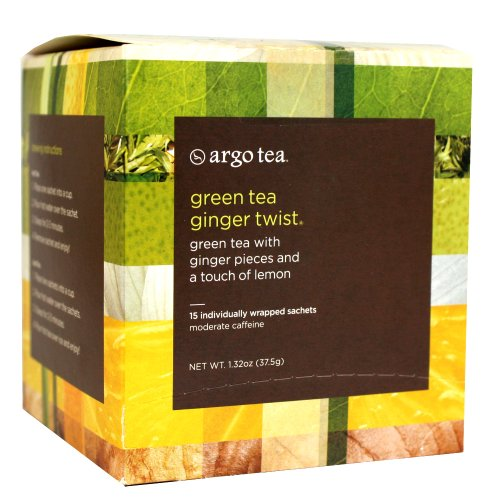 Green Tea Ginger Twist Tea Sachet