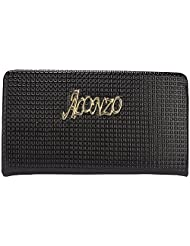 Alonzo Women's PU Wallet (Black) (Alonzo0357)