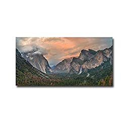 Heaven and Earth by Elizabeth Carmel Premium Oversize Gallery-Wrapped Canvas Giclee Art (Ready-to-Hang)