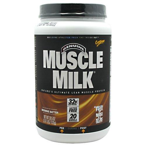 Cytosport Muscle Milk Brownie Batter - 2.47 Lb (1120 G) (6 Pack)