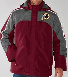 Washington Redskins NFL Defense Systems 3-in-1 Heavyweight Performance Jacket by G-III Sports