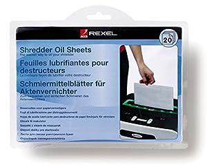 Rexel Shredder Oil Sheets A5 (Pack of 20)