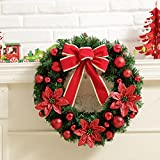 Christmas Wreath Berries Garland, SUPPION Holiday Decorations 2016 (Red)